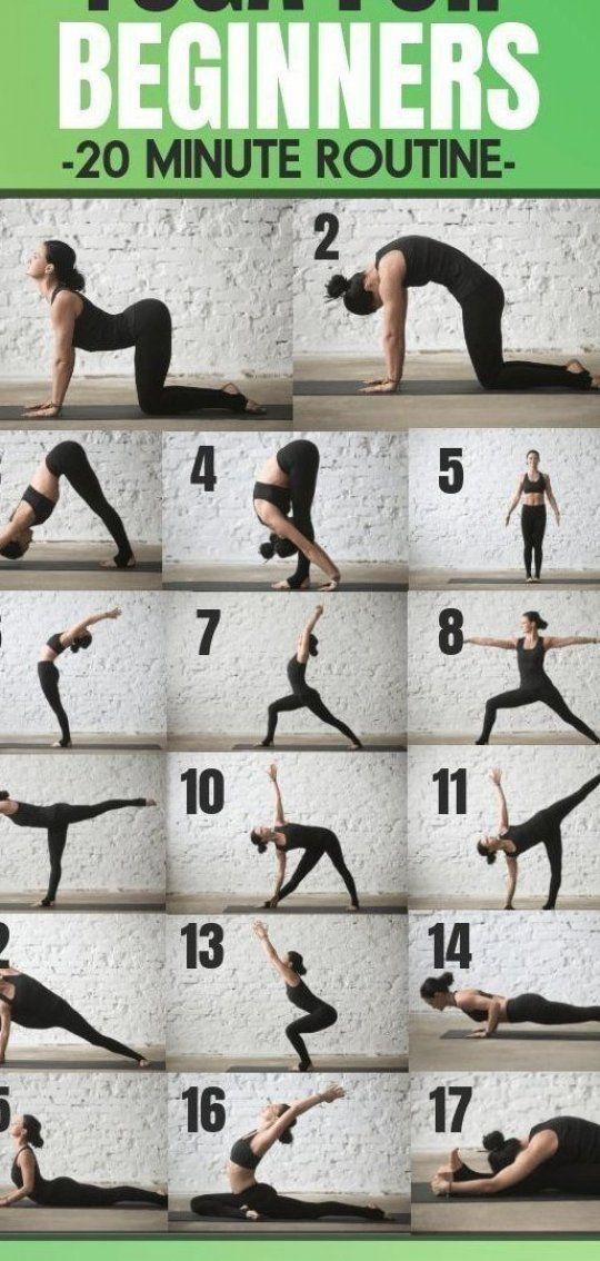 Die 20 Min Tige Yoga Routine Die Jeder Anf Nger Braucht Kostenloses Pdf 20min Tige Yoga For Beginners Yoga Routine For Beginners Essential Yoga Poses