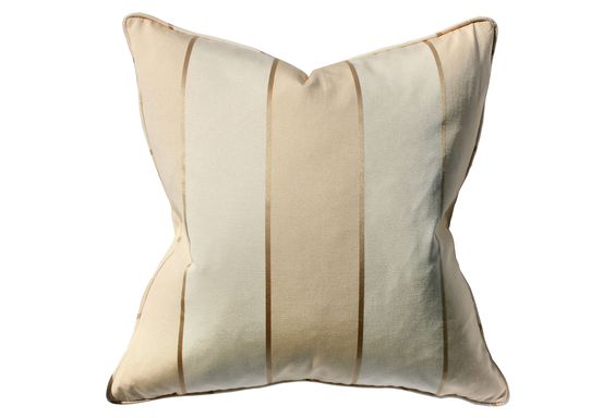 One Kings Lane - Designer Style - Tansey 22x22 Pillow, Cream