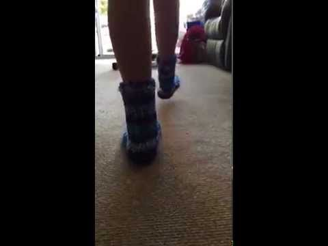 BlueSlipperSocks