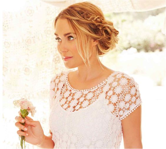 Lauren conrad, Braided updo and Lc lauren conrad on Pinterest