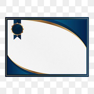 شهادة شرف للمؤسسة الفردية شرف شهادة شخصي Png والمتجهات للتحميل مجانا Certificate Design Certificate Background Poster Background Design