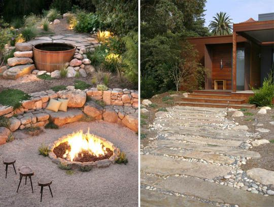 cedar hot tub and fire pit love outdoor hot tub. Black Bedroom Furniture Sets. Home Design Ideas