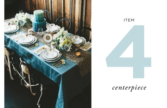 How to Style a Wedding Table // By Cassandra LaValle // Item Four: Centerpiece