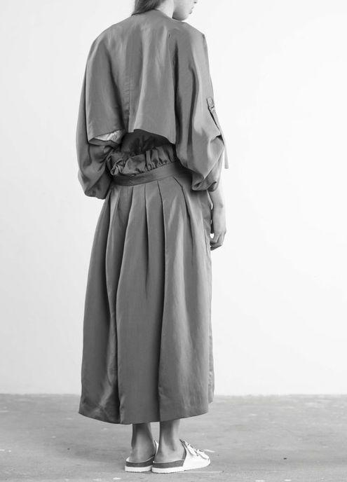 (L) Cliff Briggie, (R) Kimono trench by Fomi