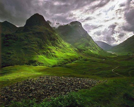 Glencoe, Escocia.