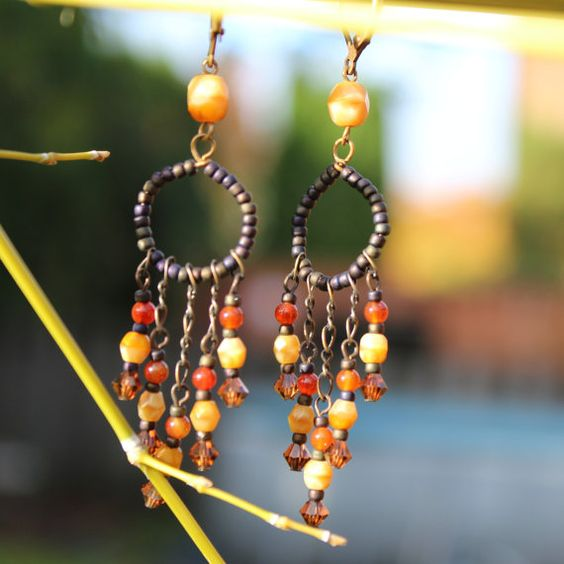 Chandelier earrings Earrings Christmas Gift vintage chandelier – Cheap Chandelier Earrings