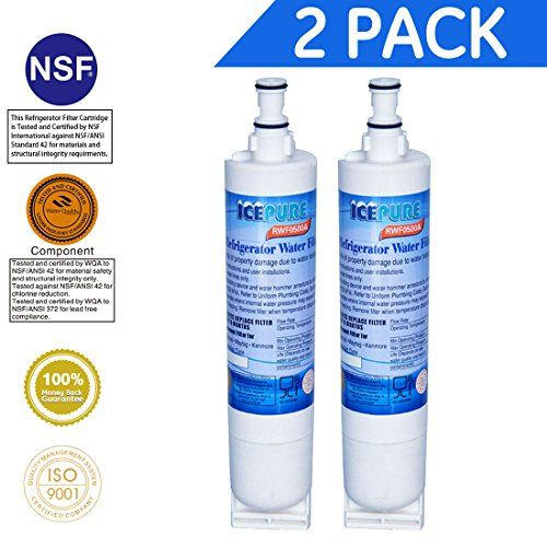 Icepure Premium Refrigerator Replacement Water Filter Compatible