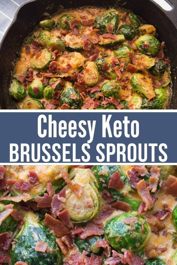 Cheesy Keto Brussels Sprouts & Bacon Recipe (Easy & Delicious)