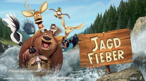 Open Season 2006 Swiss Movie Poster In 2020 Open Season Original Movie Posters Seasons