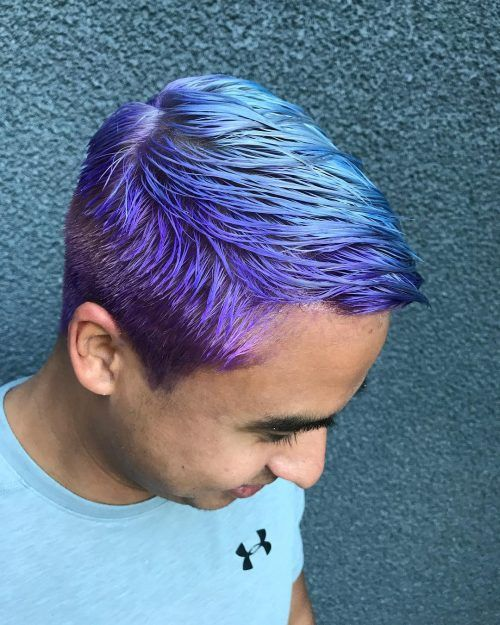 23 Incredible Ways To Get Galaxy Hair In 2020 Galaxy Hair Color