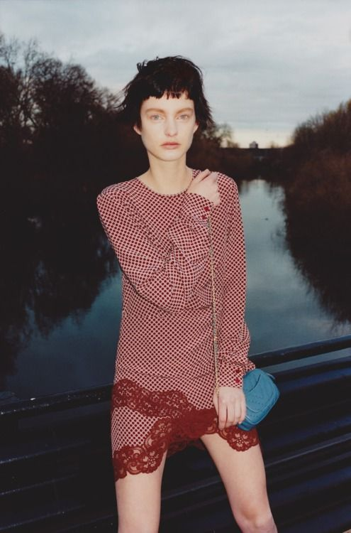 Patricia van der Vliet by Tung Walsh for Twin #6 Spring Summer 2012