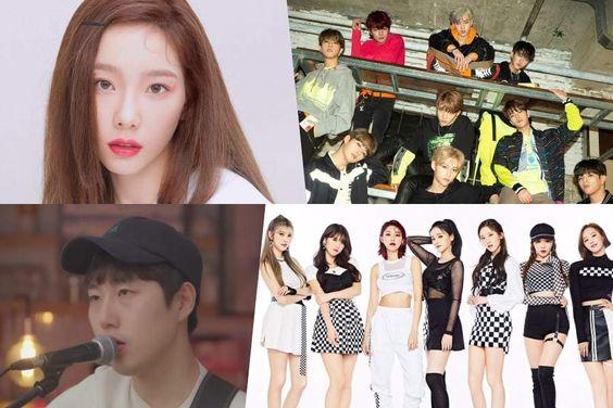 Taeyeon, Jang Bum Joon, Stray Kids, And MOMOLAND Top Weekly Gaon Charts