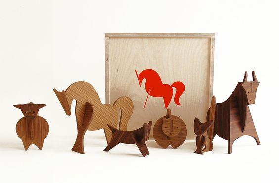 wooden animals from uusi