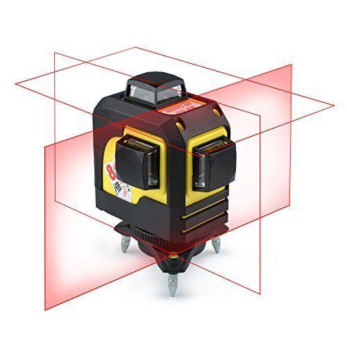 Laser Level Self Leveling Mestek 65 Feet 360 Degree Laser Levels Red Beam Leveling