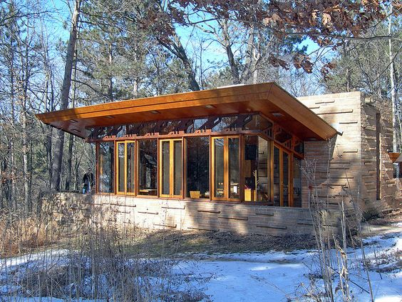 Seth Peterson Cottage, by Frank Lloyd Wright 20090312 4209 | Flickr - Photo Sharing!
