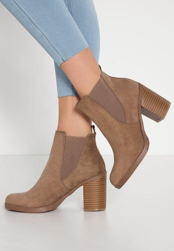 Femme Dorothy Perkins LATEO - Boots à talons - light brown marron clair: 45,00 € chez Zalando (au 18/09/16). Livraison et retours gratuits et service client gratuit au 0800 915 207.