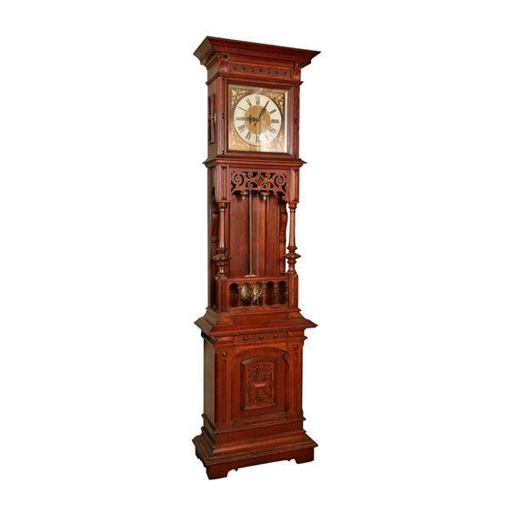 1900's German Grandfather Clock