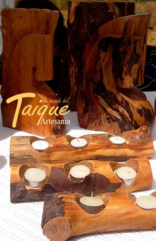 Artesan as y tallados en madera nativa chilena rustico and ideas pinterest Artesanias en madera