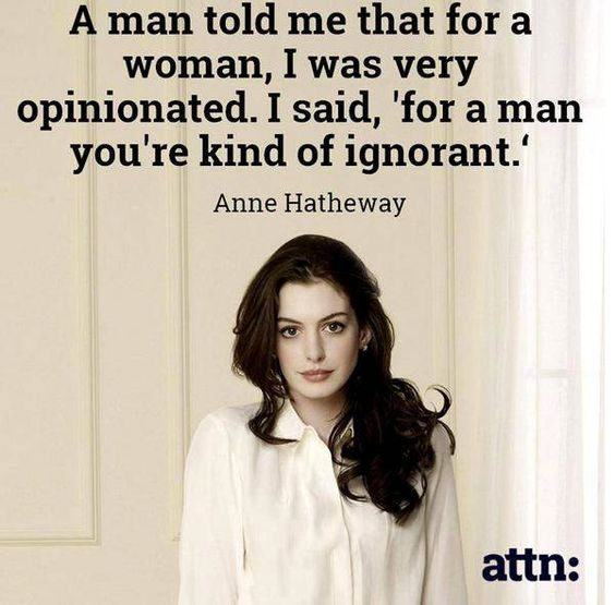 I Need Feminism Because...                                                                                                                                                                                 More