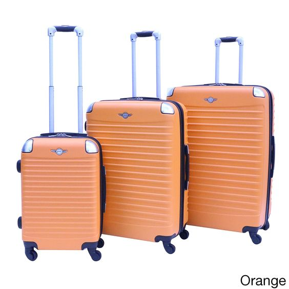 Rivolite 3-piece Hardside Spinner Luggage Set