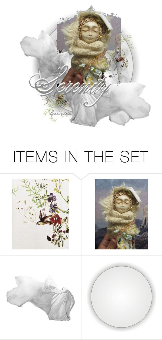 """Serenity"" by artspirit ❤ liked on Polyvore featuring art, artdolls, Awesomeart and Griselda"