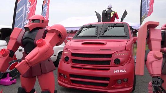 Gundam-Inspired Minivan — GeekTyrant