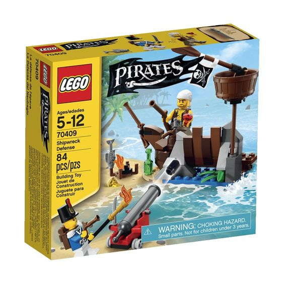 Amazon.com: LEGO Pirates Shipwreck Defense: Toys & Games