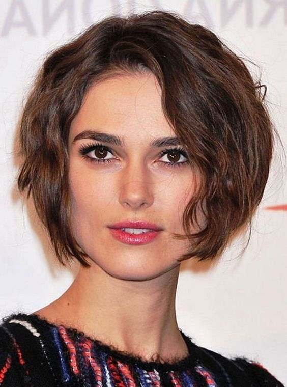 Astounding Square Faces Wavy Hair And Short Hairstyles On Pinterest Short Hairstyles Gunalazisus