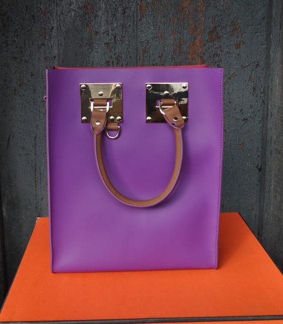 Sophie HULME Mini Leather Tote in Tri-color  US $455.00 New with tags in Clothing, Shoes & Accessories, Women's Handbags & Bags, Handbags & Purses