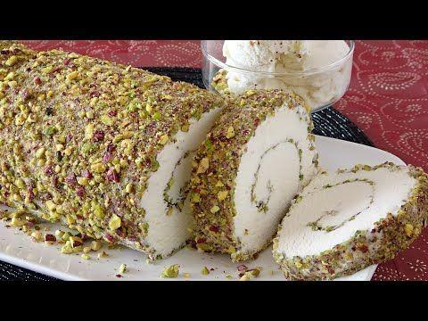 اسهل طريقة لعمل البوظة بالمنزل بمكونات اقتصادية وطعم خيالي رووووعة Youtube Arabic Dessert Food Desserts
