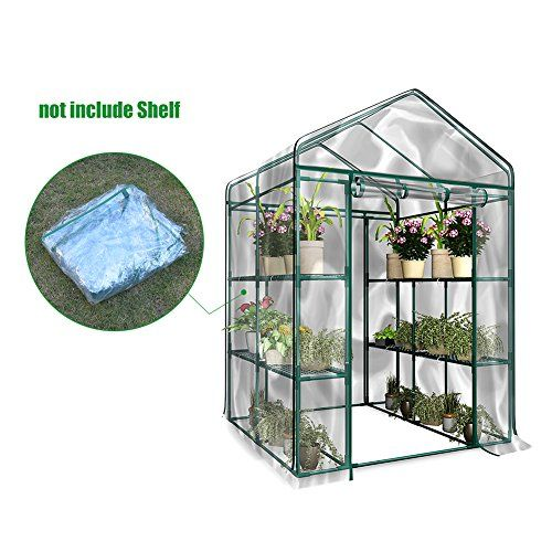 Cheap Junda Portable Greenhouse 56 X28 X 76 Reinforced Pvc Cover Without Shelf Waterproof Uv Protected Indoor Greenhouse Greenhouse Greenhouse Cover