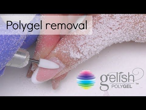 Polygel Removal How To Take Off Gel Nails Youtube Take Off Gel Nails Take Off Acrylic Nails Gel Nails