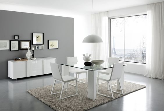 modern dining room set. 29 Modern Dining Rooms To Get Inspired From  Black dining room sets and Room set