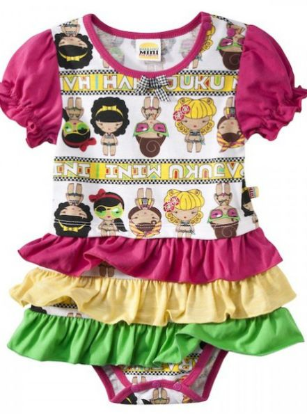 Gwen Stefani Kids Summer 2012/13 for Target.