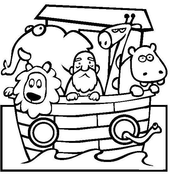 Http Www Biblekids Eu Old Testament Noah Noah Coloring Pages Great Noah 46 Jpg Animal Coloring Pages Noahs Ark Animals Coloring Pages Inspirational