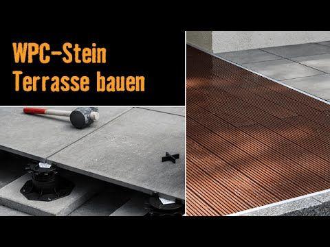 Relativ Bau dir eine Terrasse mit WPC-Dielen und Feinsteinzeug-Platten mit  AQ68