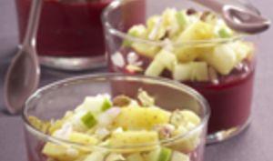 Verrines de Ratte du Touquet à la pistache