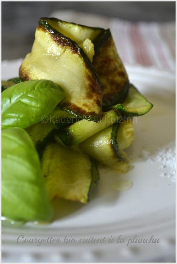 Recette de tagliatelle de courgette à la plancha - Kaderick en Kuizinn© #recette #plancha #courgette #tagliatelle
