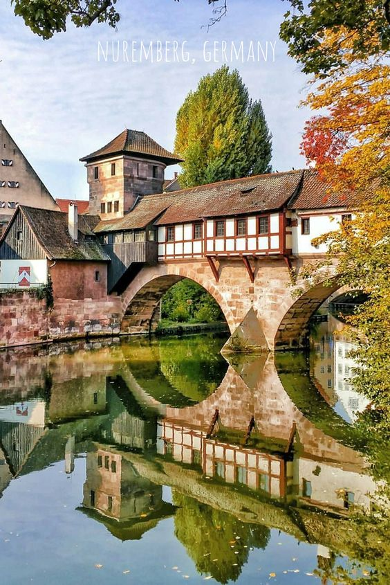 Nuremberg Germany Nuremberg Is The Second Largest City Of The German Federal State Of Bavaria After Cool Places To Visit Beautiful Places Travel And Leisure