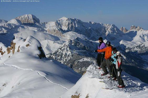 ski - Val di Fassa (Italy)