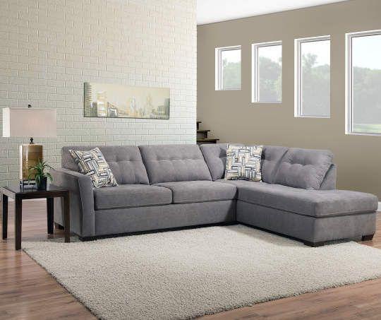 Lane Home Solutions Pasadena Gray Living Room Sectional Living