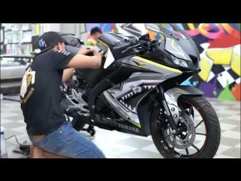 Yamaha R15 V3 0 Best Sticker Modification Customized Bike 2019