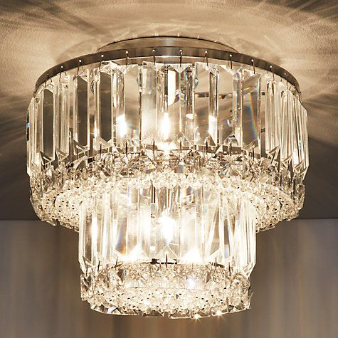 Buy john lewis elena 2 tier crystal bars flush ceiling light online buy john lewis elena 2 tier crystal bars flush ceiling light online at johnlewis lighting pinterest lighting online john lewis and ceiling aloadofball Image collections