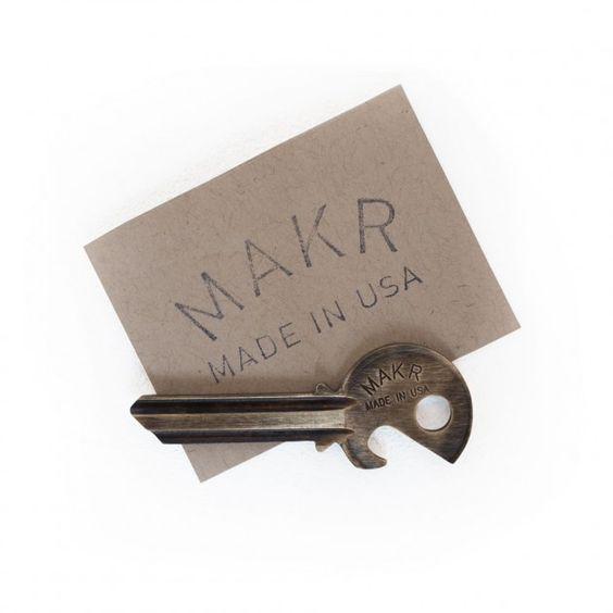 Makr Bottle Opener. What can i say, I love bottle openers