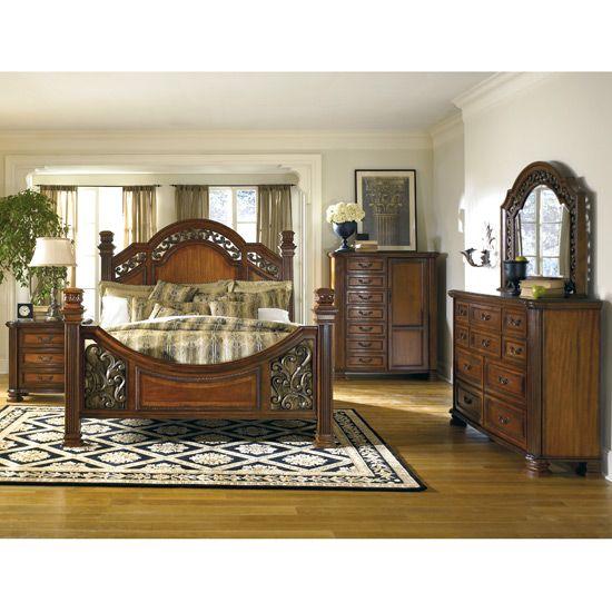 Ashley Home Furniture Bedroom Sets Corona Park Bedroom Set by