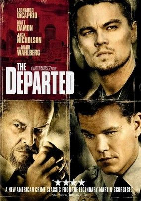 The Departed (2006) To take down South Boston's Irish Mafia, the police send in one of their own to infiltrate the underworld, not realizing the syndicate has done likewise in Martin Scorsese's multiple Oscar-winning crime thriller. While an undercover cop (Leonardo DiCaprio) curries favor with the mob kingpin (Jack Nicholson), a career criminal (Matt Damon) rises through the police ranks. But both sides soon discover there's a mole among them.