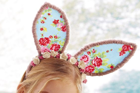 How to Make Easter bunny Ears #Easter #EggHunt