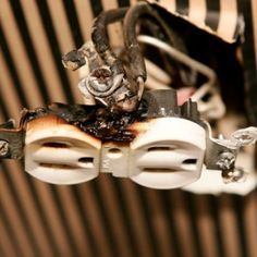 Info on electrical dangers to look out for in the home