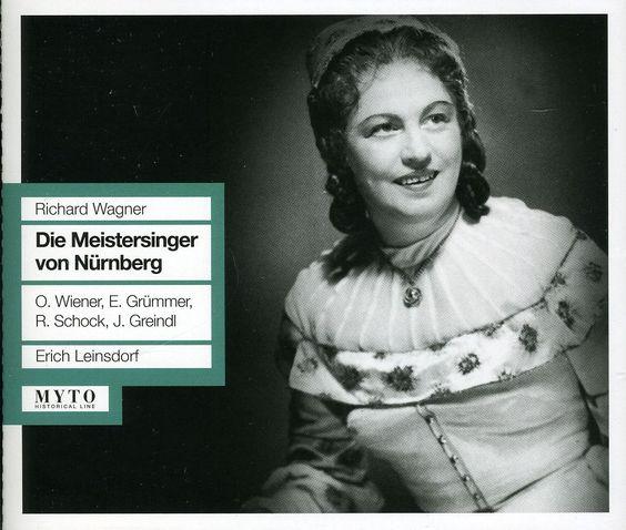 Elisabeth Grummer - Die Meistersinger Von Nurnb