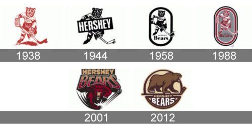 Hershey Bears Logo History Hershey Bears Bear Logo Bear